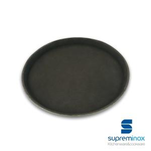 bandeja servir fibra de vidrio antideslizante redonda