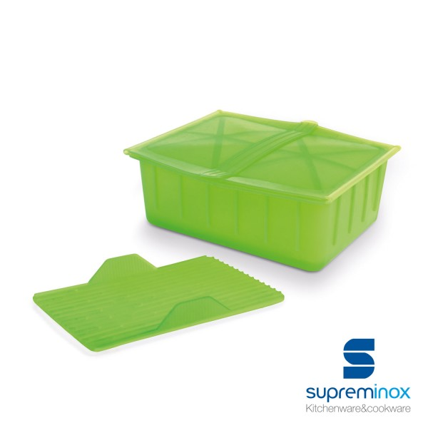 recipiente de comida al vapor de silicona