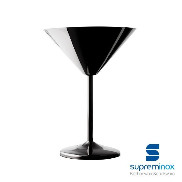 copa martini negro brillante