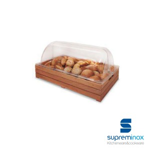 methacrylate buffet stand cover for wooden box gn 1/1