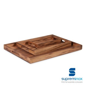 wooden walnut serving board