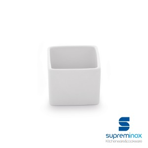 mini porcelain cube bowl