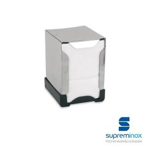 small napkin holder stainless steel 18/0 plastic base