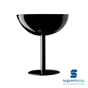 glossy black cup