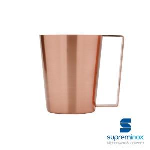matte copper mug