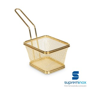 square basket chips golden