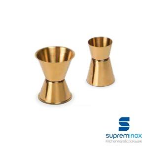 golden double jigger measuring luxe