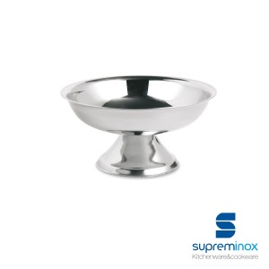 ice cream low cup stainless steel