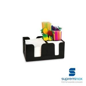 6 compartment bar organizer