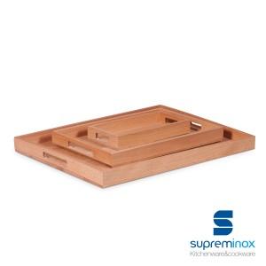 wooden beech serving board