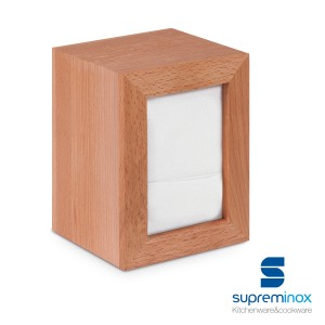 napkin holder beech wood