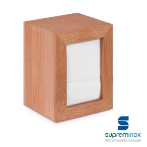 napkin holder beech wood