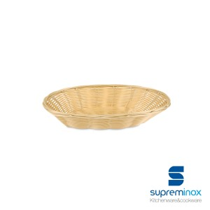 baguette poly-rattan basket laminated