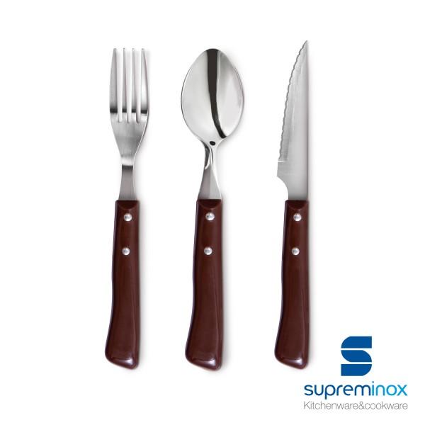 cutlery serie ternasco plastic 18/0