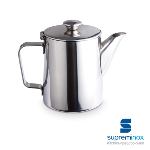 coffee pot stainless steel 18/10 - luxe collection