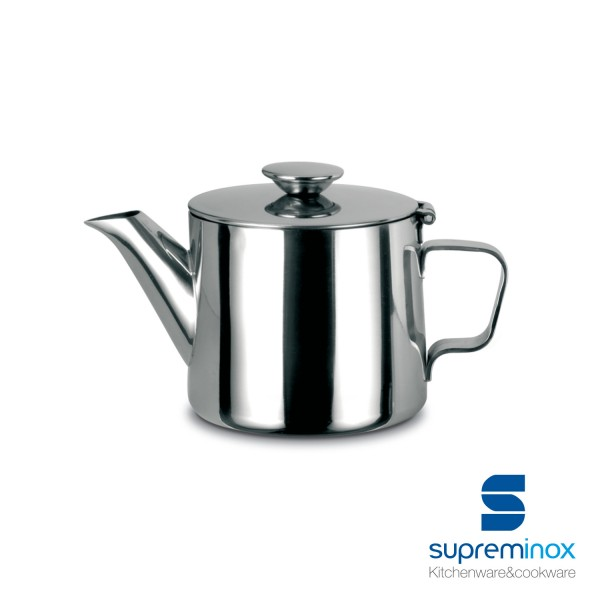 tea pot stainless steel 18/10 - luxe collection