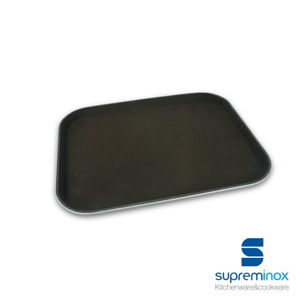 rectangular non-slip fiber glass tray