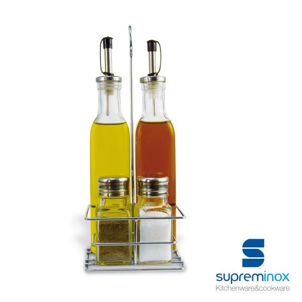 non-drip oil & vinegar set 4 pieces