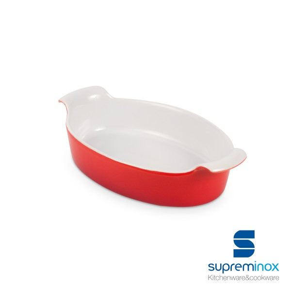 mini ceramic oval baking dish