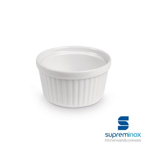 mini porcelain soufflé mold