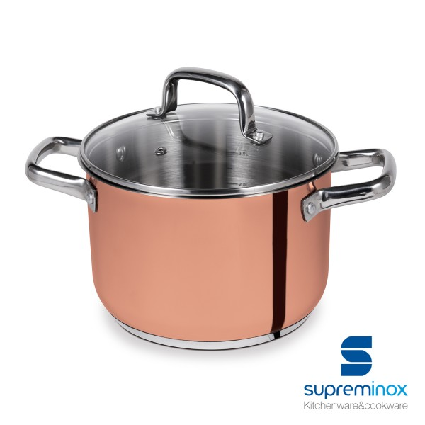 copper cooking pot - elegance Collection