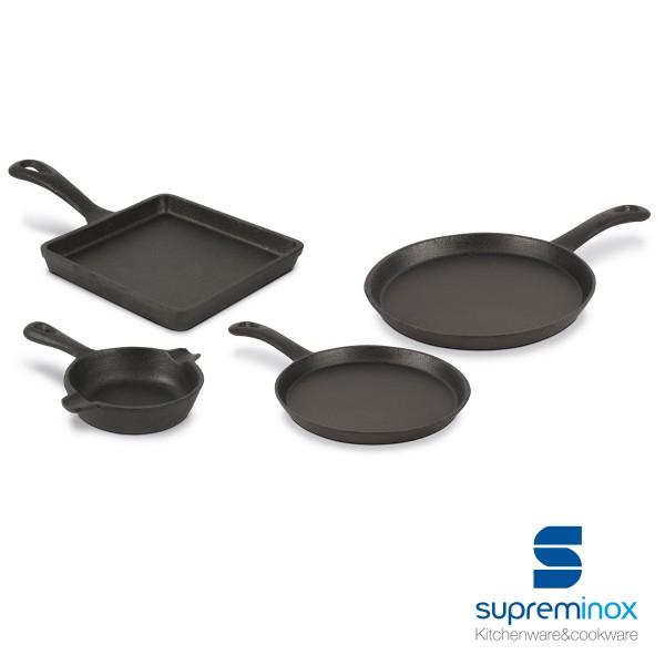 cast iron round mini pan