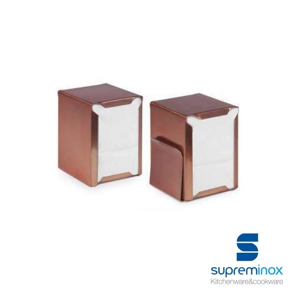 napkin holder copper