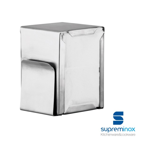 napkin holder with menu stainless steel