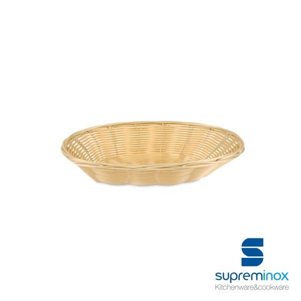 baguette poly-rattan basket laminated