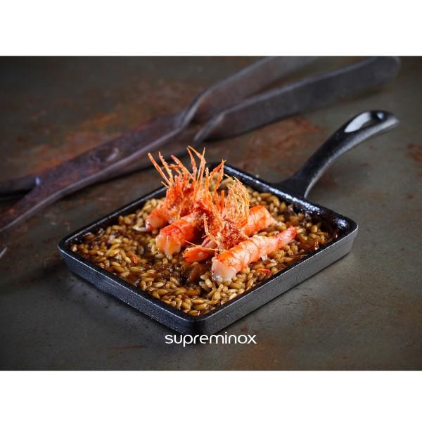 cast iron square mini pan