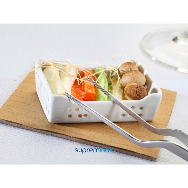 mini porcelain rectangular bowl