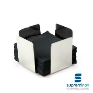 porte-serviette de table inox avec base antidérapante
