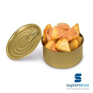 boîtes de conserve rondes pour des aliments