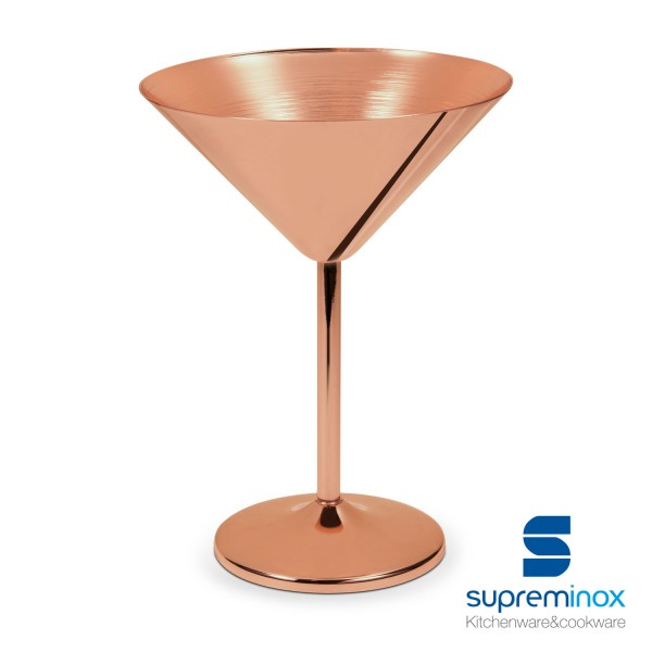 coupe martini en cuivre