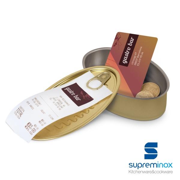 boîtes de conserve ovales pour des aliments