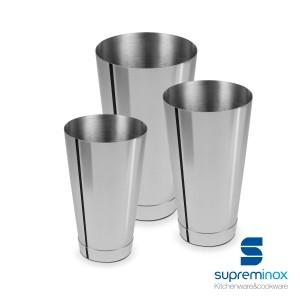 shaker acciaio per cocktails