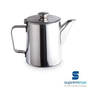 caffettiera acciaio inox 18/10 - collezione luxe