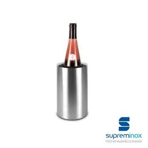 secchiello doppia parete acciaio inox per vino o champagne