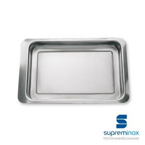 vassoio per scaldare gli alimenti in acciaio inox