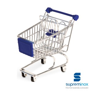 mini carrello supermercato trolley per tapas