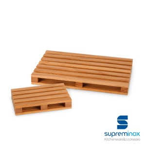 mini pallet di legno sottobicchieri