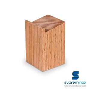 supporto per alzare cassette di legno