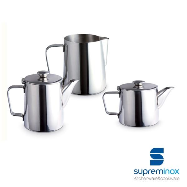 caraffa acciaio inox 18/10 - collezione luxe