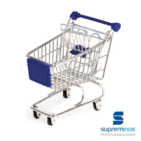 mini carrello supermercato trolley per tapas