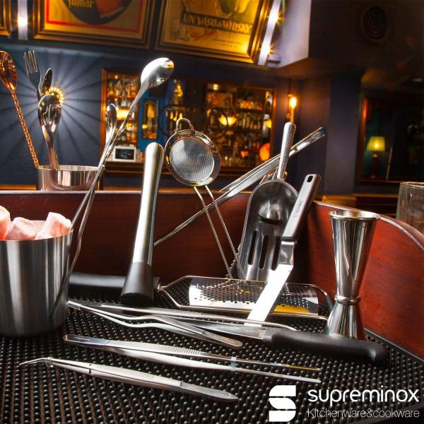 cucchiaio cocktail per mescolare con 3 punte