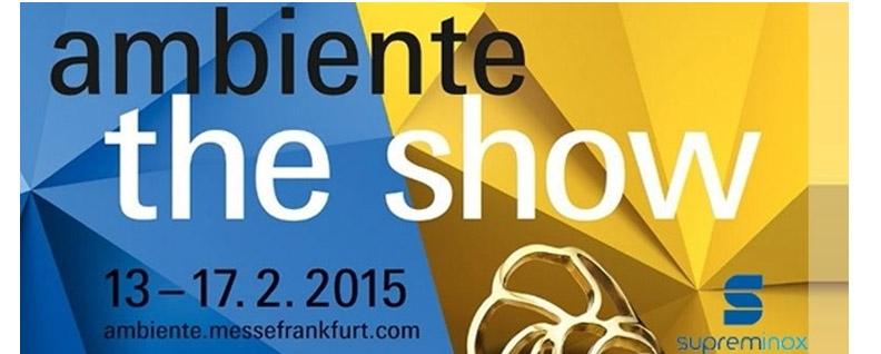 Supreminox en Ambiente 2015 Frankfurt