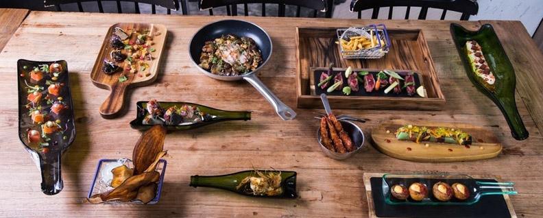 ablas de madera con pizarra: ¡El servicio de mesa más foodie!